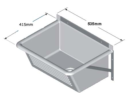 Laundry Trough Sizes : AutoSpec Atlas Plastics sinks and wash troughs Browse