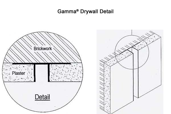 Drywall Detail 10 : Autospec capco gamma drywall trims reveals and