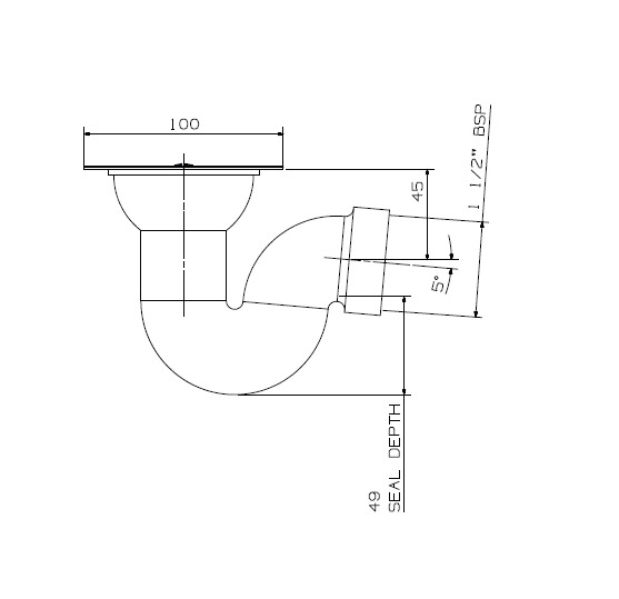 Lovely 373SQ Shower P Trap Line Diagram