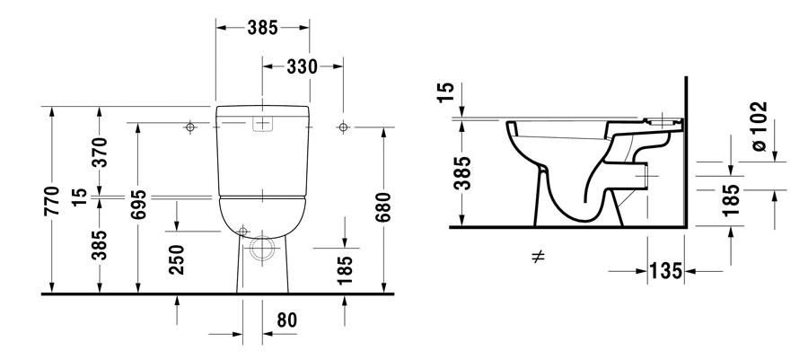 autospec duravit d code sanitaryware browse. Black Bedroom Furniture Sets. Home Design Ideas